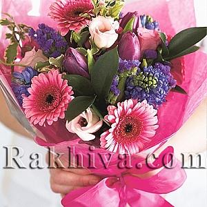 Как сами да опаковаме красив букет от цветя?