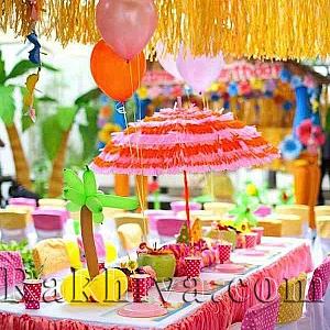 Свежи идеи за декорация на хавайско парти