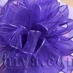 Как се декорира малък подарък с панделка