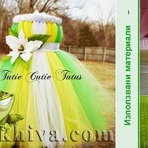 Модни идеи за детско пролетно тържество с тюл