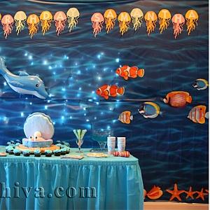 Идеи за декорация на морско парти у дома