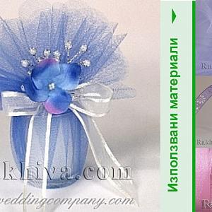 10 свежи идеи за красиви опаковки на сватбен подарък с кристален тюл