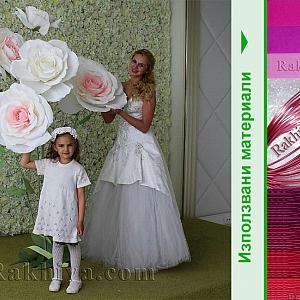 Идеи за красив декор за снимки с хартиени цветя