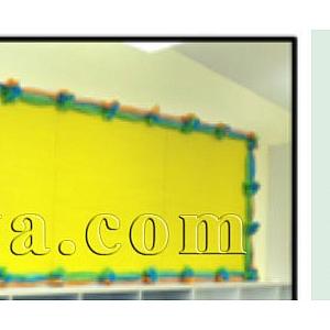 Как се прави – украса на класната стая с тишу хартия