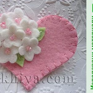 Как се правят цветя от филц за модна декорация