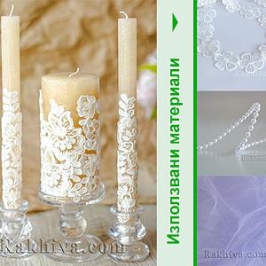 Идеи за сватбена декорация с дантела