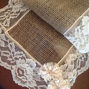Как се прави – покривка за маса от зебло и дантела