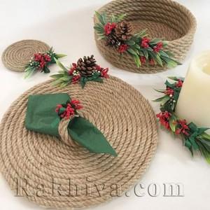 Как се прави декорация за дома с канап или конопено въже