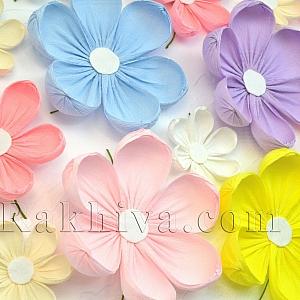 Изкуството, наречено декорация – цветя от хартия