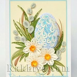 Квилинг-картички за Великден