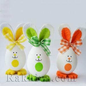Великденски идеи за декорация на яйца с деца