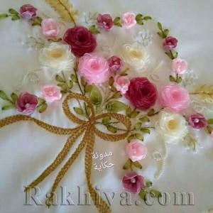 Шиене с панделки: как се прави роза от органза