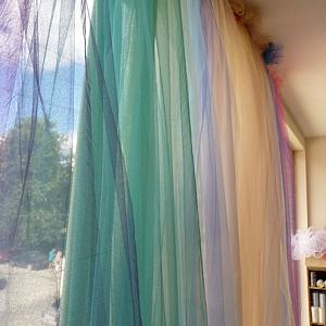 Идея за декорация на дома – направи си сам пердета от тюл