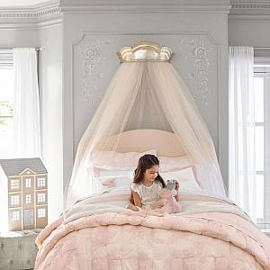 Идеи за декорация на детска стая с тюл или органза