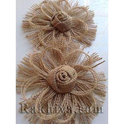 Как се правят декоративни цветя от панделка зебло