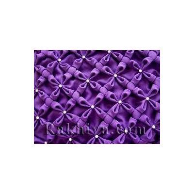 Как се декорира текстилен плат с дребен набор