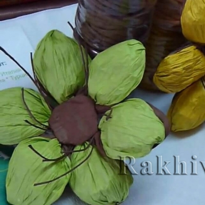 Как се прави: цвете от хартиен шнур туист