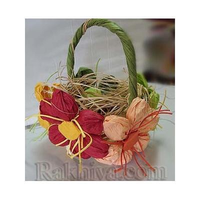 Свежи идеи за декорация с цвете от хартиен шнур туист