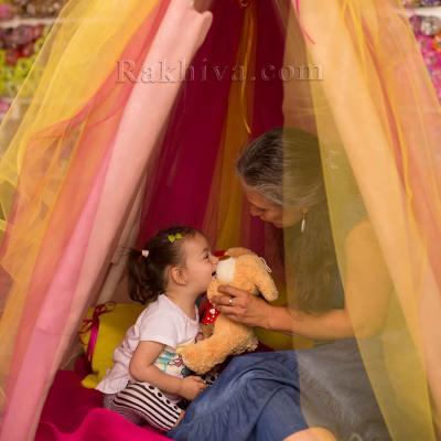 От нищо нещо: направи си сам палатка за игра на децата