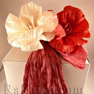 Как се прави хартиено цвете: роза от хартиен шнур туист