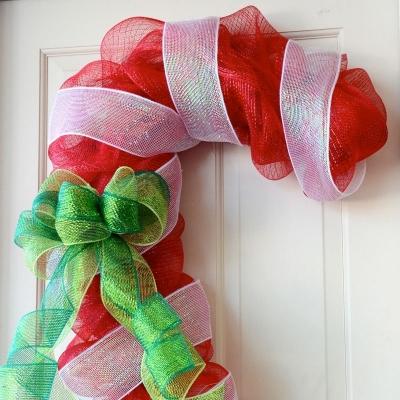 Бастунчето на Баба Марта – мартеничка-декорация от мрежа за детска градина и за дома