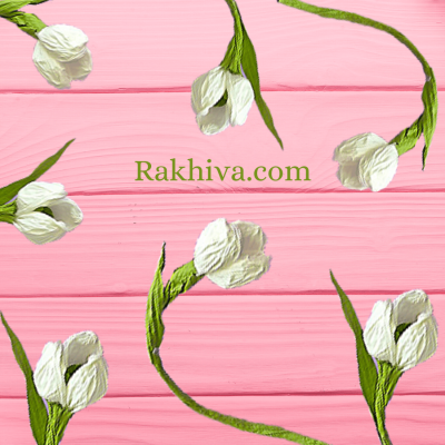Как се правят пролетни цветя от хартиен шнур туист. Кокичета.