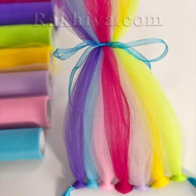 Идея за забава: Как се прави дълга цветна коса от тюл