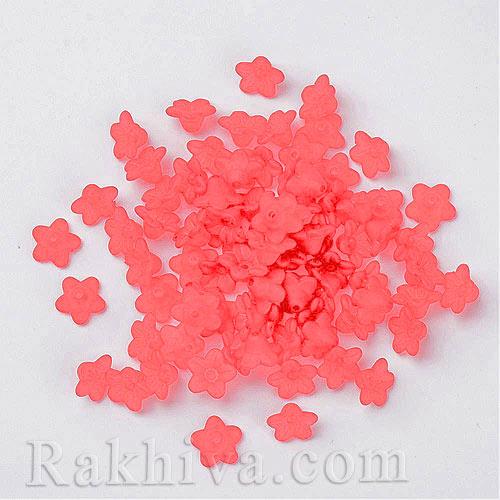 елементи за бижута - цветя МАТ, розови