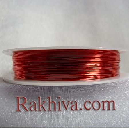Тел месинг , червено CWIR-0.3MM-13 (0.3мм/ 26м)