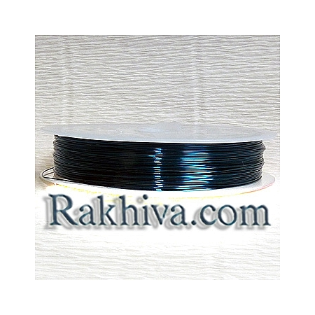 Тел месинг, синьо CWIR-0.3MM-8 (0.3мм/ 26м)