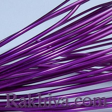 Цветна алуминиева тел, т.лилаво (1.5мм/ 6м)