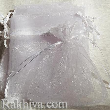 Торбички от органза бяло
