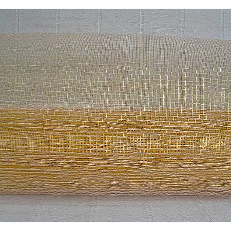 Мрежа за цветя 'Слънчеви лъчи' (Корея), 9 ярда (бяло,злато) (41/10-200)