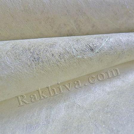 Златен италиански физелин цвят сребро и екрю, 5м (сребро,екрю)