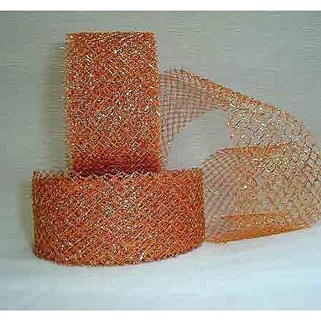 Тъкани мрежа със злато, Оранжево - злато (4/10/1975)