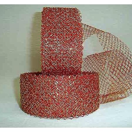 Тъкани мрежа със злато, Червено - злато  (4/10/1980)
