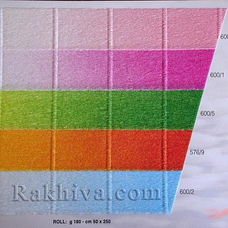 Луксозна крепирана хартия (Италия Cartotecnica rossi), кат.№:600/4 светло розово
