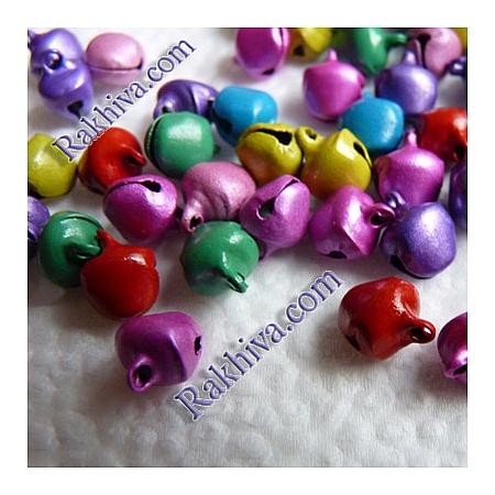 Звънчета - шарени (за бижута, за изработка на полички за танци, туту, роклички за малки принцеси)