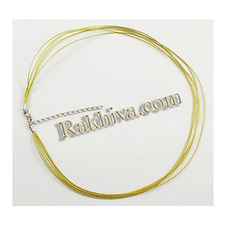 Връзка - колие със закопчалка, злато