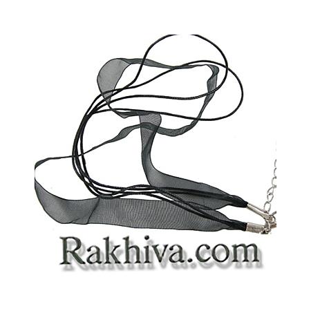 Връзка - колие органза със закопчалка