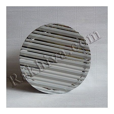 Кутии за подаръци, кръг № 003/50 метализе, КР2(d=9см/ h=6,5см)