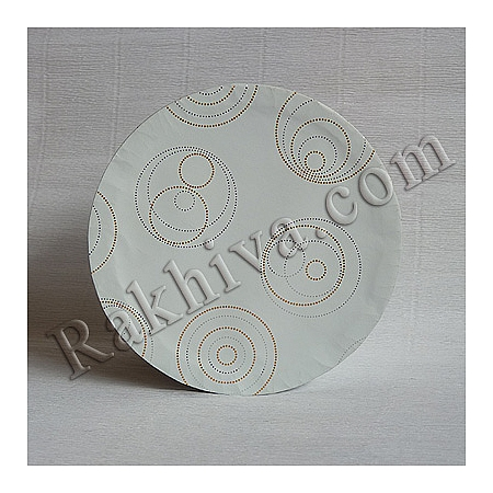 Кутии за подаръци, кръг № 93А/63 метализе, КР2(d=9см/ h=6,5см)