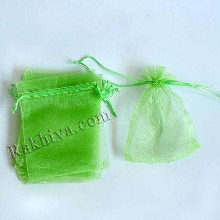 Торбички от органза резеда