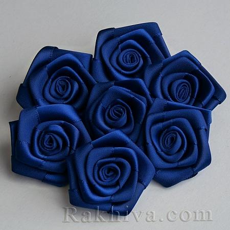 Розички Сатен, тъмно синьо 10бр.