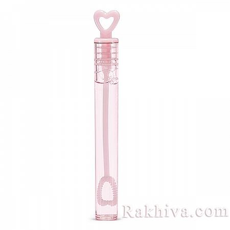 Сапунени балончета Сърце, розово (9BMH48-081)