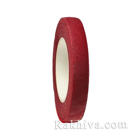 Цветарско тиксо, 12 мм / 25 ярда, червено (B62294)