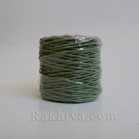 Хартиен шнур, войнишко зелено (1/25/6464) ролка 22,50м