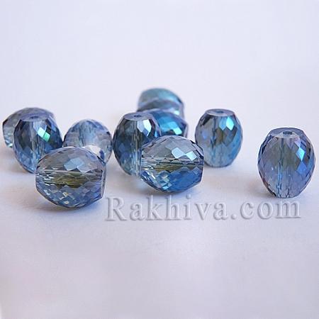 Кристални мъниста (стъклени) Диамант елипса