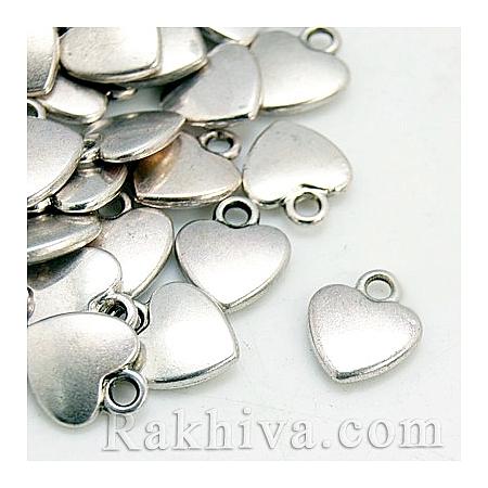 Сърца цвят сребро