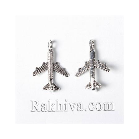 Самолетчета цвят сребро, 10бр (TIBEB-A101638-AS-LF)